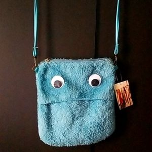 Urban Outfitters NWT cookie monster crossbody bag
